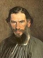 Lev Tolstoi - poza (imagine) portret